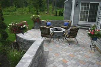 long island home and businesses owners can depend on our landscape and masonry design services for all their custom stone paver patio installation and - Patio Designer